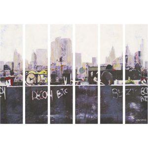 Casamance panoramic wallpaper Bronx Afternoon