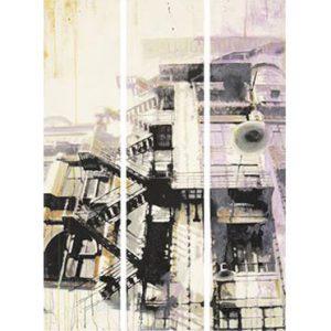 Casamance panoramic wallpaper Usine Thriller