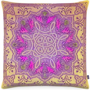 Aaizi cushion Gordes Gold square