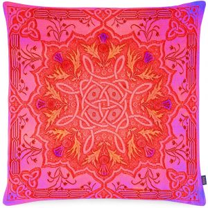 Aaizi cushion Gordes Red square