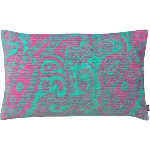 Aaizi cushion Mazan Fuchsia Green