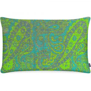 Aaizi cushion Mazan Lime