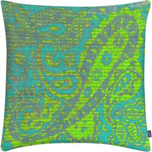 Aaizi cushion Mazan Lime square