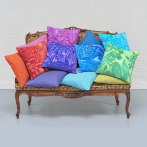 Aaizi cushion Mille Fleurs Green