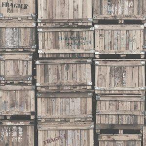 Casamance panoramic wallpaper En Transit