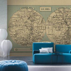 Casamance panoramic wallpaper Astro Logis