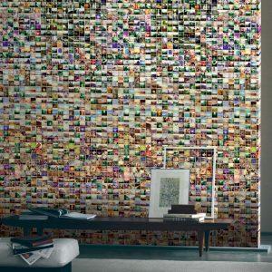 Casamance panoramic wallpaper Capturez et Partagez