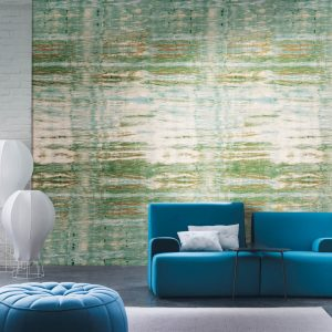 Casamance panoramic wallpaper Emotion Panoramique blue