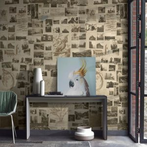 Casamance panoramic wallpaper Photo Recit