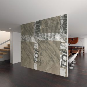 Casamance panoramic wallpaper Tombola Graphie