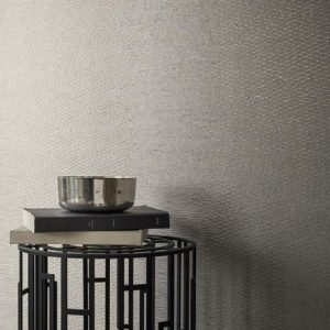 Casamance wallcovering Montaigne white