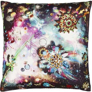 Christian Lacroix cushion Cosmos Nuit