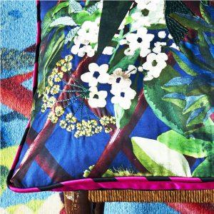 Christian Lacroix cushion Canopy Mediterranee