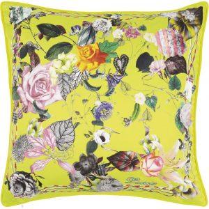 Christian Lacroix cushion Double Jeu Jonquille