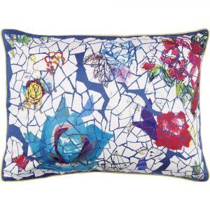 Christian Lacroix cushion Eclats De Roses Nacre