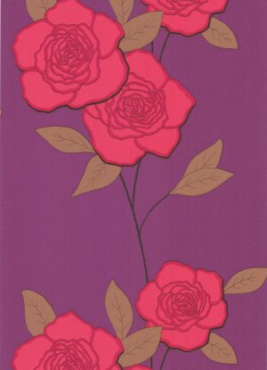 Cole and Son wallpaper Paper Roses 6124