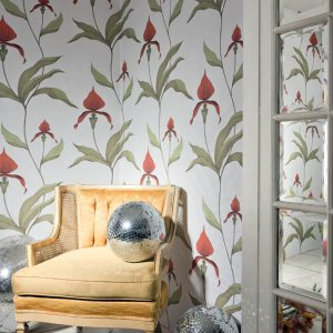 Cole and Son wallpaper Orchid 10054