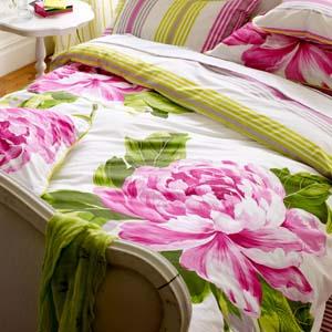 Designers Guild bed linen Charlottenberg Rose