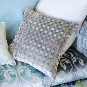 Designers Guild cushion Parterre Zinc
