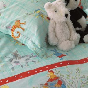 Designers Guild Kids bed linen Musical Animals
