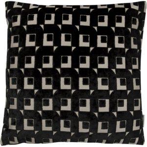 Designers Guild cushion Pugin Noir