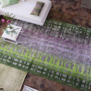 Designers Guild rug Colonnade Moss