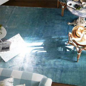 Designers Guild rug Eberson Aqua