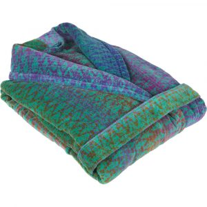 Elaiva bath robe Ocean Magic Green