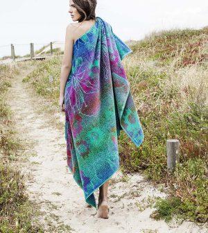 Elaiva beach towel Blue Magic