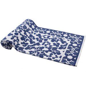 Elaiva beach towel Little Leaves Blue