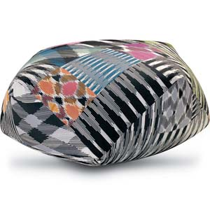 Missoni Home diamand pouf Patch 100