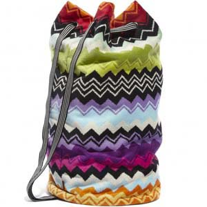 Missoni Home beach bag Giacomo T59