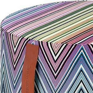 Missoni Home cylinder pouf Kew 170