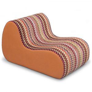Missoni Home armchair Virgola Nador