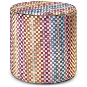 Missoni Home cylinder pouf Maseko 160