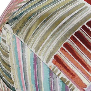 Missoni Home diamond pouf Palenque
