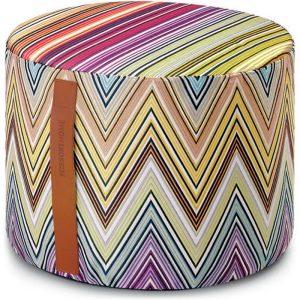 Missoni Home cylinder pouf Kew T59