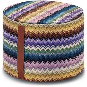 Missoni Home cylinder pouf Rajam