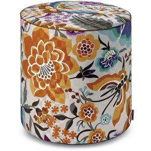 Missoni Home cylinder pouf Samoa 164