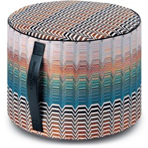 Missoni Home cylinder pouf Santafe