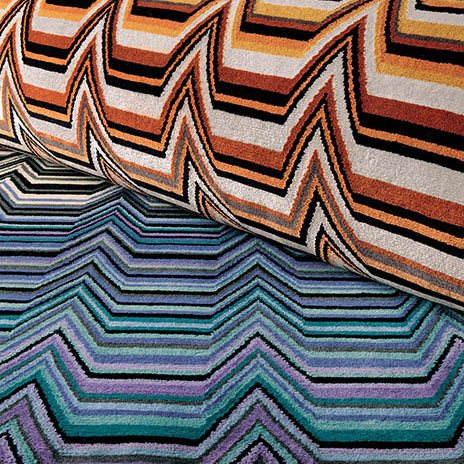 Missoni Home rug Saguaro