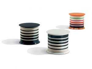 Missoni Home side table Spool Nero T01