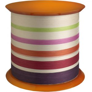 Missoni Home side table Spool Arancio T03