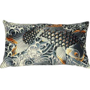 Jean Paul Gaultier Home cushion Sublimation gold