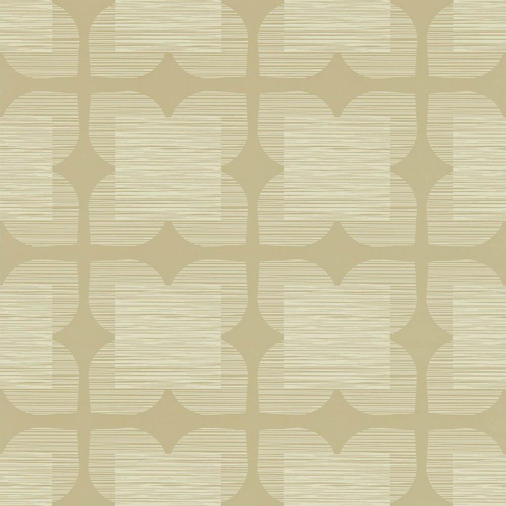 Orla Kiely wallpaper Flower Tile Grey