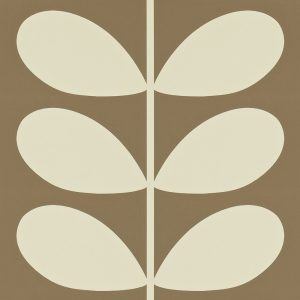Orla Kiely wallpaper Giant Stem Mole