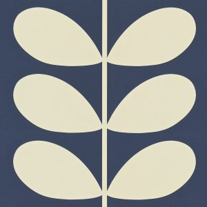 Orla Kiely wallpaper Giant Stem Navy