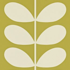Orla Kiely wallpaper Giant Stem Olive