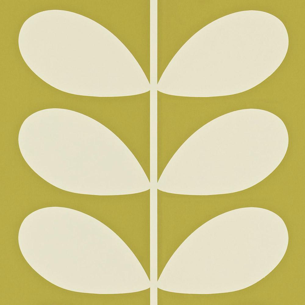 Orla Kiely wallpaper Giant Stem Olive