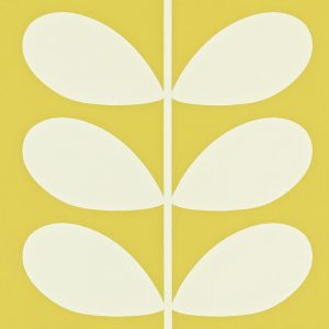 Orla Kiely wallpaper Giant Stem Yellow